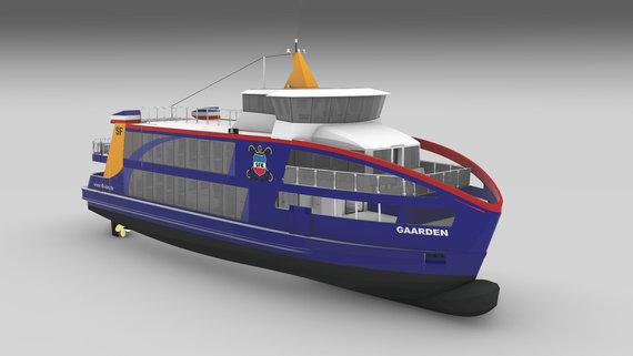 """16-10-2019: Order hydraulisch systeem veerboot """"Gaarden"""""""