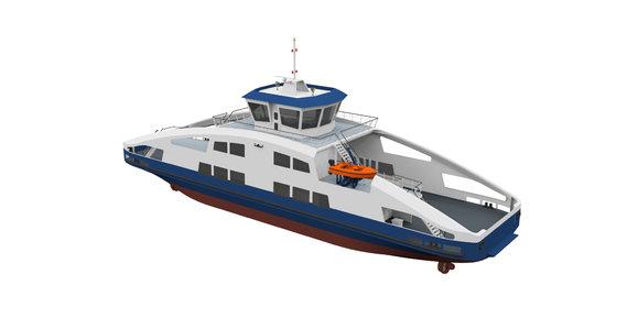 23-04-2020: Order hydraulic system electric ferry