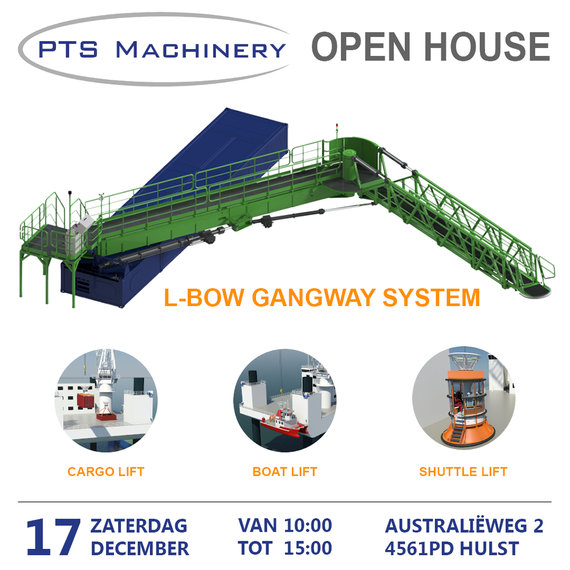 17-12-2016: Open huis L-Bow gangway
