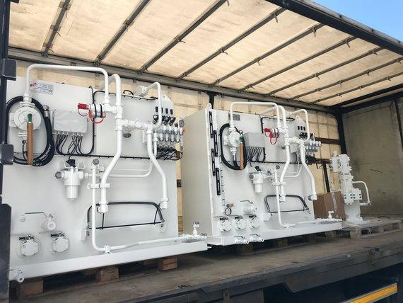 30-01-2019 Order hydraulische aandrijving 10 profielzuigers
